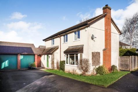 Pope Close, Taunton, TA1. 4 bedroom detached house for sale