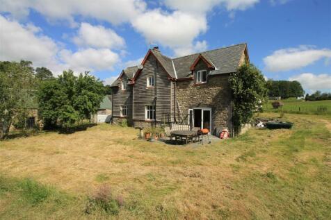 Newbridge-on-wye, Llandrindod Wells, LD1. 4 bedroom farm house