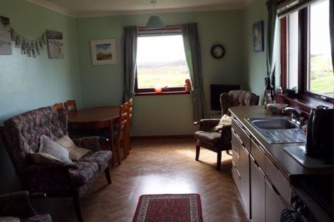 Locheport, Isle Of North Uist. 3 bedroom bungalow