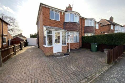 Edward Avenue, Leicester. 3 bedroom house