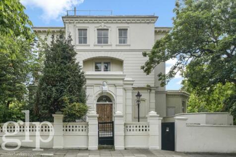 Blomfield Road, Little Venice, W9. 6 bedroom house for sale