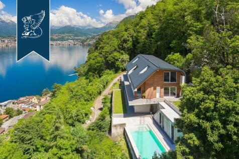 Lombardy, Como, Campione D'italia. 7 bedroom villa for sale
