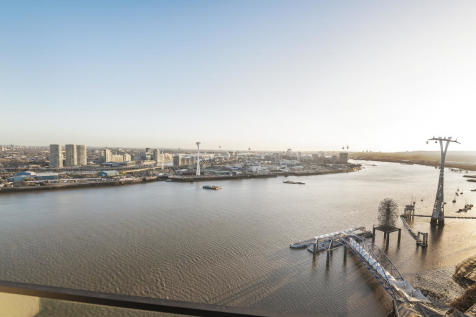 No.1, 18 Cutter Lane, Upper Riverside, Greenwich Peninsula, SE10. 2 bedroom flat for sale