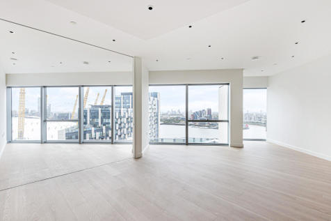 No.2. 10 Cutter Lane, Upper Riverside, Greenwich Peninsula, SE10. 3 bedroom flat for sale