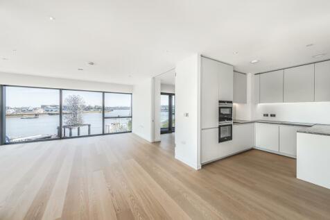 No.2, 10 Cutter Lane, Upper Riverside, Greenwich Peninsula, SE10. 3 bedroom flat
