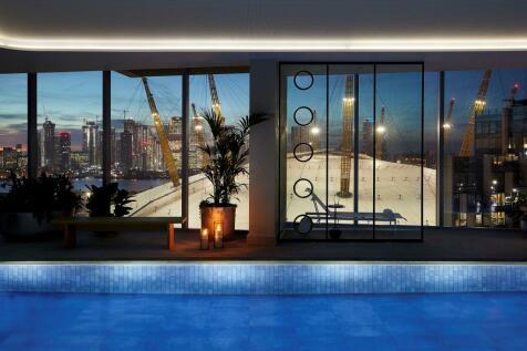 No.5, 2 Cutter Lane, Upper Riverside, Greenwich Peninsula, SE10. 3 bedroom flat
