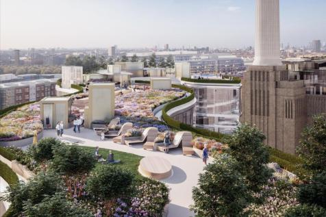 Battersea Power Station, 188 Kirtling Street, Nine Elms, London, SW8 5BN. 4 bedroom flat for sale