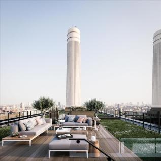 Battersea Power Station, 188 Kirtling Street, Nine Elms, London, SW8 5BN. 3 bedroom flat for sale