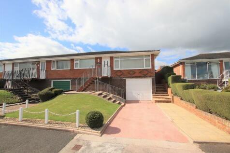 Babbacombe, Torquay. 2 bedroom semi-detached bungalow