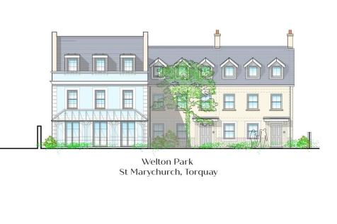 St Marychurch, Torquay. 4 bedroom town house for sale