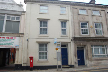 Princes Street, Ipswich, Suffolk, IP1. 1 bedroom flat