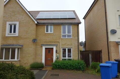 Ganymede Close, Ipswich, Suffolk, IP1. 3 bedroom terraced house