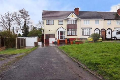 The Crescent, Dudley. 4 bedroom end of terrace house