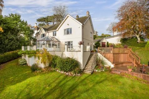 Middle Warberry Road, Torquay. 4 bedroom detached house for sale