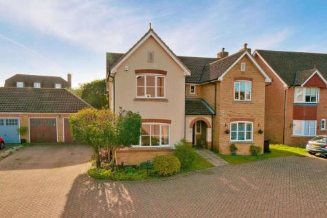 Alfriston Grove, Kings Hill, ME19 4AS. 5 bedroom detached house for sale