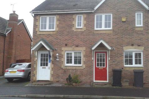 Hatters Court, Bedworth. 2 bedroom end of terrace house