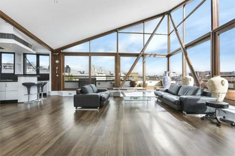 The Triangle, Three Oak Lane, London. 3 bedroom penthouse for sale