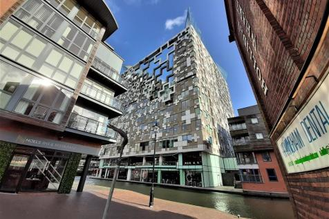 The Cube Building , Birmingham. 2 bedroom apartment