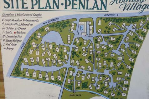 Penlan Holiday Village, CENARTH, Newcastle Emlyn. Land for sale