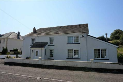 Ty Newydd, Pontardulais Road, CROSS HANDS, Llanelli. 5 bedroom detached house for sale