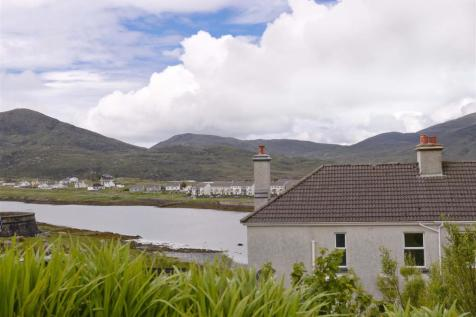 Kilda House, Leverburgh, Isle of Harris. 3 bedroom semi-detached house