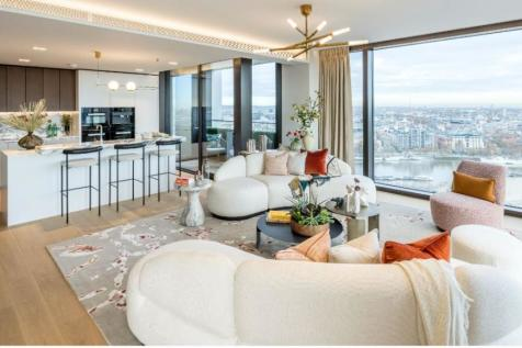 Southbank Place Marketing Suite, County Hall Riverside Building,  Westminster Bridge Road,  London, SE1. 3 bedroom apartment for sale