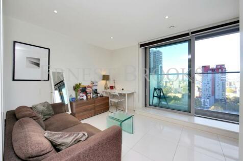 Pan Peninsula Square, West Tower, Canary Wharf, E14. Studio apartment for sale