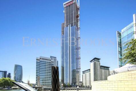 South Quay Plaza, Canary Wharf, E14. 3 bedroom apartment for sale