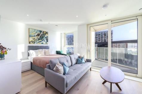 Carrick House, Royal Wharf, Royal Victoria Docks, E16. Studio apartment