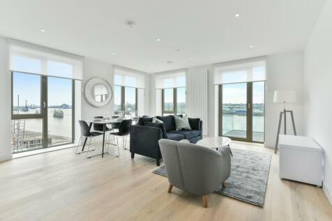 Laker House, Royal Wharf, London, E16. 3 bedroom apartment