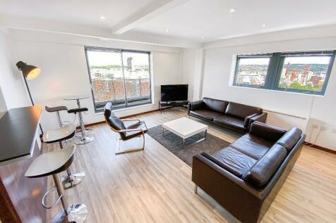 Portland Lane, Sheffield, S1. 6 bedroom penthouse