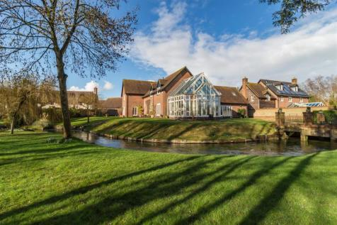 Witchampton Mill, Wimborne. 5 bedroom detached house for sale