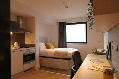 True Student Manchester, 2 King William Street, Salford, M50. 1 bedroom flat