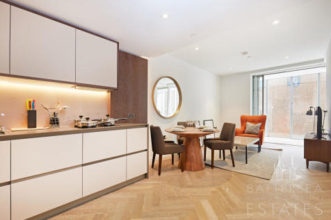 #6217, Fladgate House, 4 Circus Road West, Battersea. 1 bedroom apartment