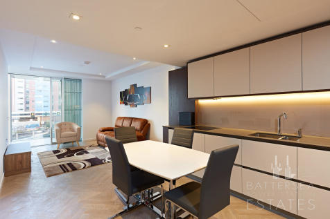 #8856, Fladgate House, 4 Circus Road West, Battersea. 1 bedroom apartment