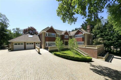 Horseshoe Ridge, St George's Hill, Weybridge, Surrey, KT13. 5 bedroom detached house for sale