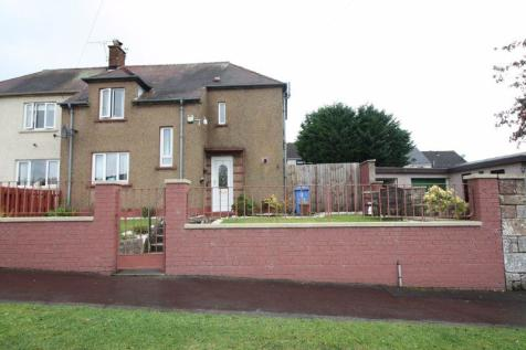 9 Branshill Road, Sauchie. 3 bedroom semi-detached villa for sale