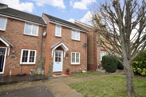 Fairfield Way, Stevenage. 3 bedroom end of terrace house for sale