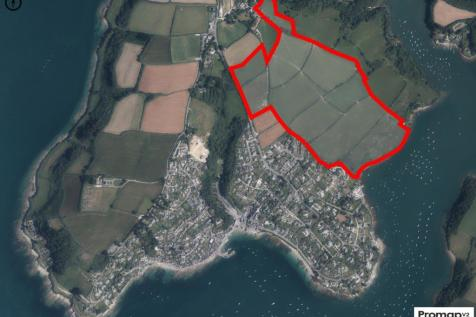 Nanshuthall Farm, St. Mawes, Truro, TR2. Land for sale
