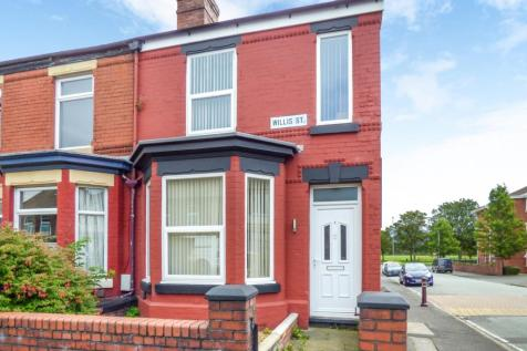 Willis Street, Warrington. House for sale