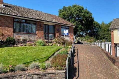 Catalpa Close, Off Malpas Road, Newport. NP20 6JW. 2 bedroom semi-detached bungalow