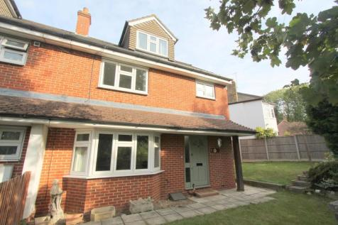 St. Dunstans Hill, Cheam, Sutton. 4 bedroom end of terrace house for sale