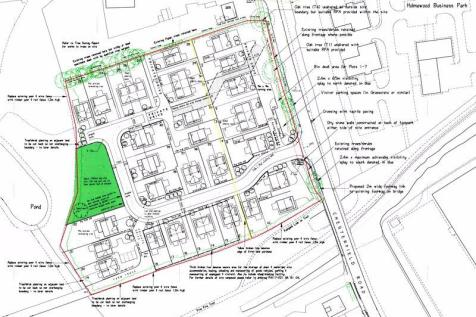 Residential Site off Chesterfield Road, Holmewood. Detached house for sale