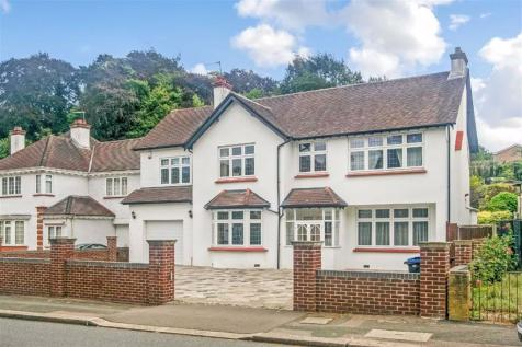 Woodcote Valley Road, Purley, Surrey. 5 bedroom detached house