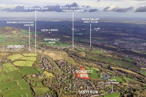 Land at Heritage Way, Brymbo Park, Wrexham, LL11. Land for sale