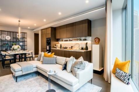Canary Wharf's new district, Canary Wharf, London  E14 9SB. 3 bedroom apartment for sale