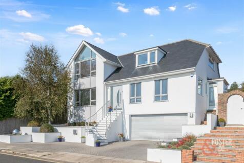 Downside, Hove. 4 bedroom detached house for sale
