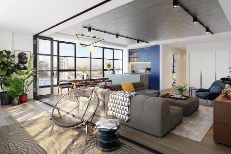 Sales Gallery, Orchard Place, London, E14 0JZ. 3 bedroom apartment
