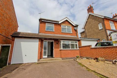 Hollow Road, Anstey, Leicester. 3 bedroom detached house