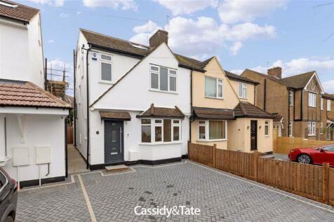 Ashley Road, St. Albans, Hertfordshire. 5 bedroom semi-detached house for sale